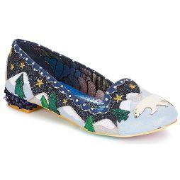 Ballerine donna Irregular Choice  Binksy Bear  Blu Irregular Choice 5052224499202