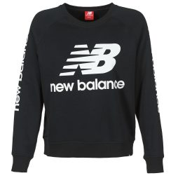 Felpa donna New Balance  GRAPHIC SWEATER BLACK  Nero New Balance 798248168735