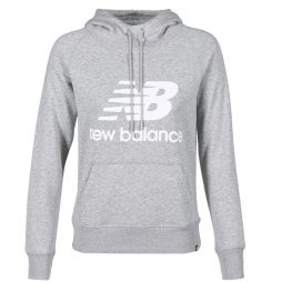 Felpa donna New Balance  GRAPHIC SWEATER GREY  Grigio New Balance 798248166939