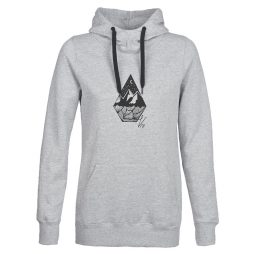 Felpa donna Volcom  COSTUS P/OVER FLEECE  Grigio Volcom 886608367567