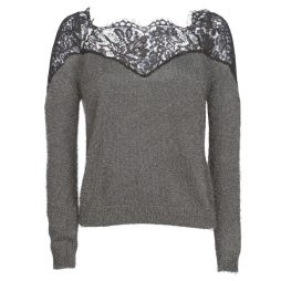 Maglione donna Only  ONLALLY  Grigio Only 5713746340778