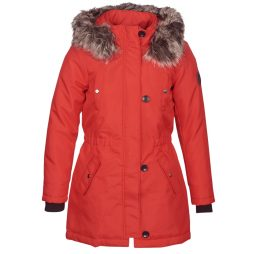 Parka donna Only  ONLIRIS  Rosso Only 5713741265014