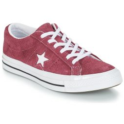 Scarpe donna Converse  ONE STAR SUEDE OX  Rosso Converse 888754606125