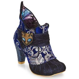 Stivaletti donna Irregular Choice  Miaow  Blu Irregular Choice 5052224483904
