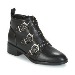 Stivaletti donna Only  BRIGHT PU BOOTIE  Nero Only 5713741439552