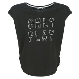 T-shirt donna Only Play  ONPFLORENZA  Nero Only Play 5713741939380