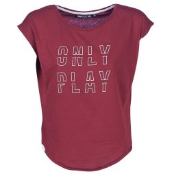 T-shirt donna Only Play  ONPFLORENZA  Rosso Only Play 5713741939304