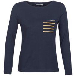 T-shirts a maniche lunghe donna Petit Bateau  TREPO  Blu Petit Bateau 3102273614353