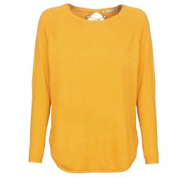 Maglione donna Only  ONLMATINA  Giallo Only 5713740848751