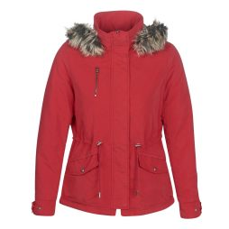 Parka donna Only  ONLNEW STARLIGHT  Rosso Only 5713741300753