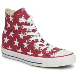 Scarpe donna Converse  ALL STAR BIG STAR PRINT HI  Rosso Converse 886951929603