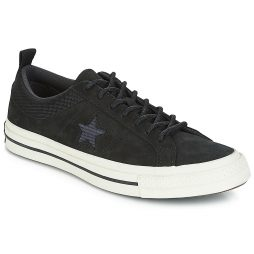 Scarpe donna Converse  ONE STAR LEATHER OX  Nero Converse 888756107378