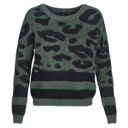 Maglione donna Only  ONLELLI  Verde Only 5713745123983