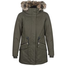 Parka donna Only  ONLALEENA  Verde Only 5713745008099