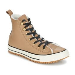 Scarpe donna Converse  CHUCK TAYLOR ALL STAR HIKER BOOT LEATHER HI  Beige Converse 888756199618