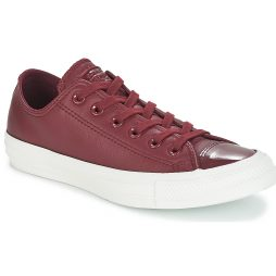 Scarpe donna Converse  CHUCK TAYLOR ALL STAR LEATHER OX  Rosso Converse 888756200215
