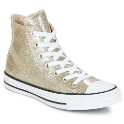 Scarpe donna Converse  CHUCK TAYLOR ALL STAR SYNTHETIC HI  Oro Converse 888756112556