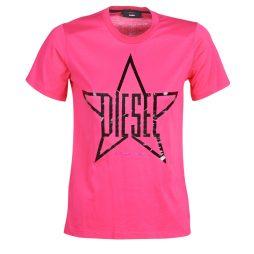 T-shirt donna Diesel  T SILY  Rosa Diesel
