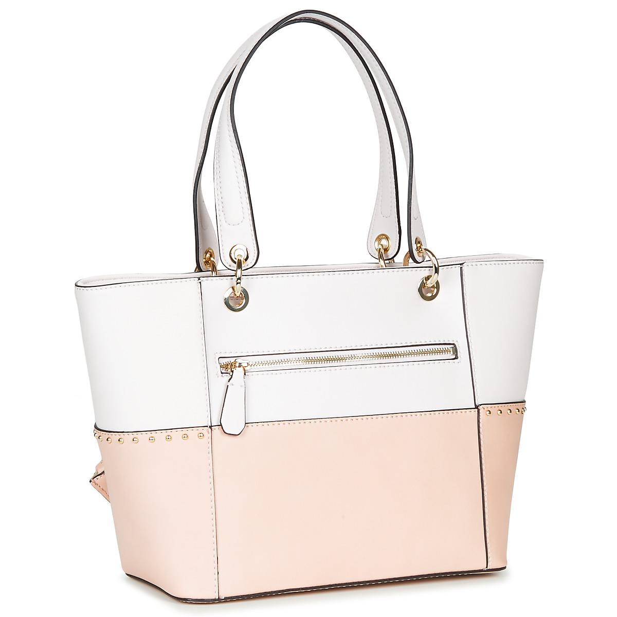 3f0b43aedd Borsa Shopping donna Guess KAMRYN TOTE Beige Sintetico 12783856 |  Spedizione Gratuita