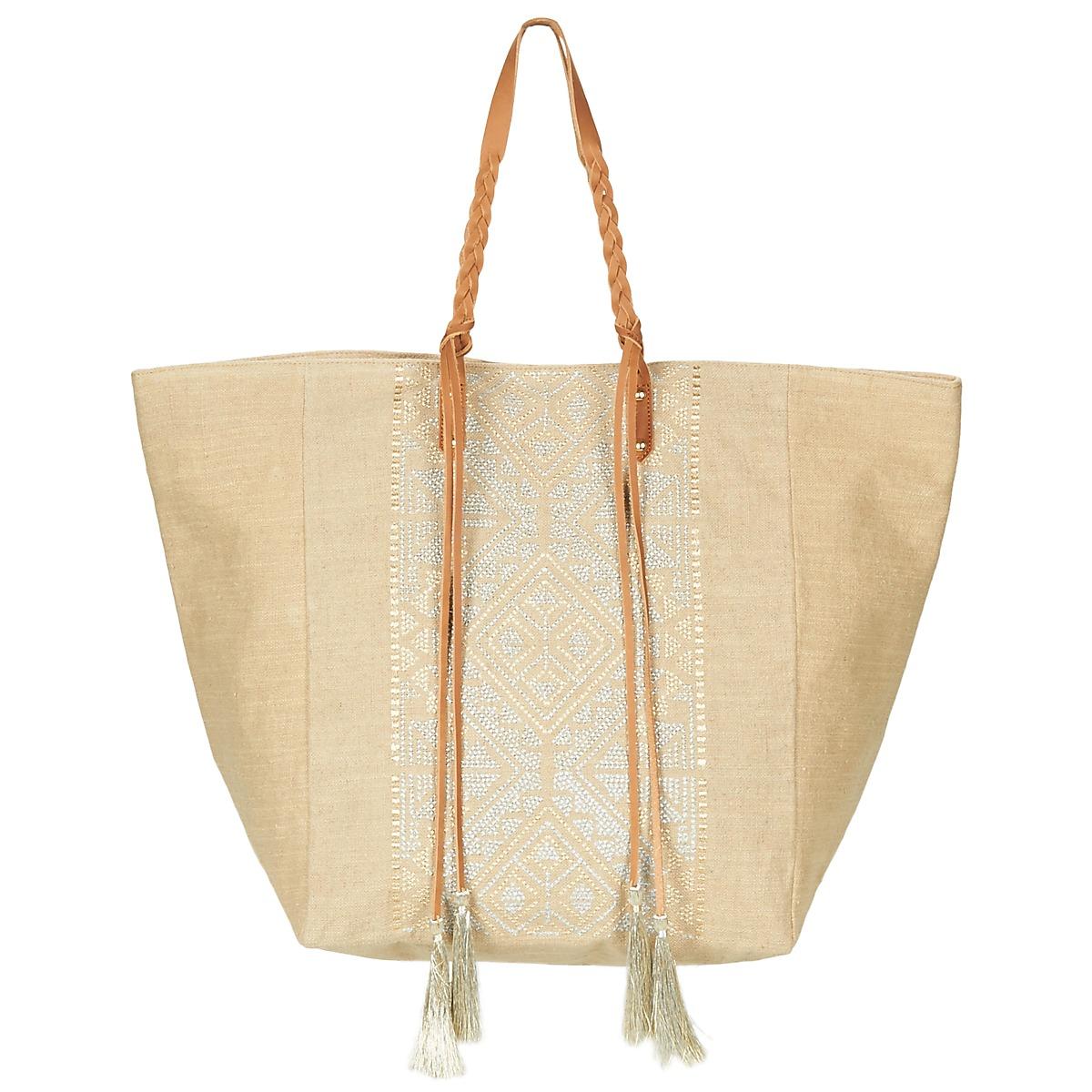 Borsa Shopping donna Petite Mendigote  YUCATAN  Beige Petite Mendigote 3663380101537