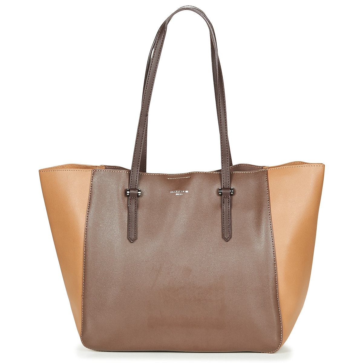 Borsa a spalla donna David Jones  -  Marrone