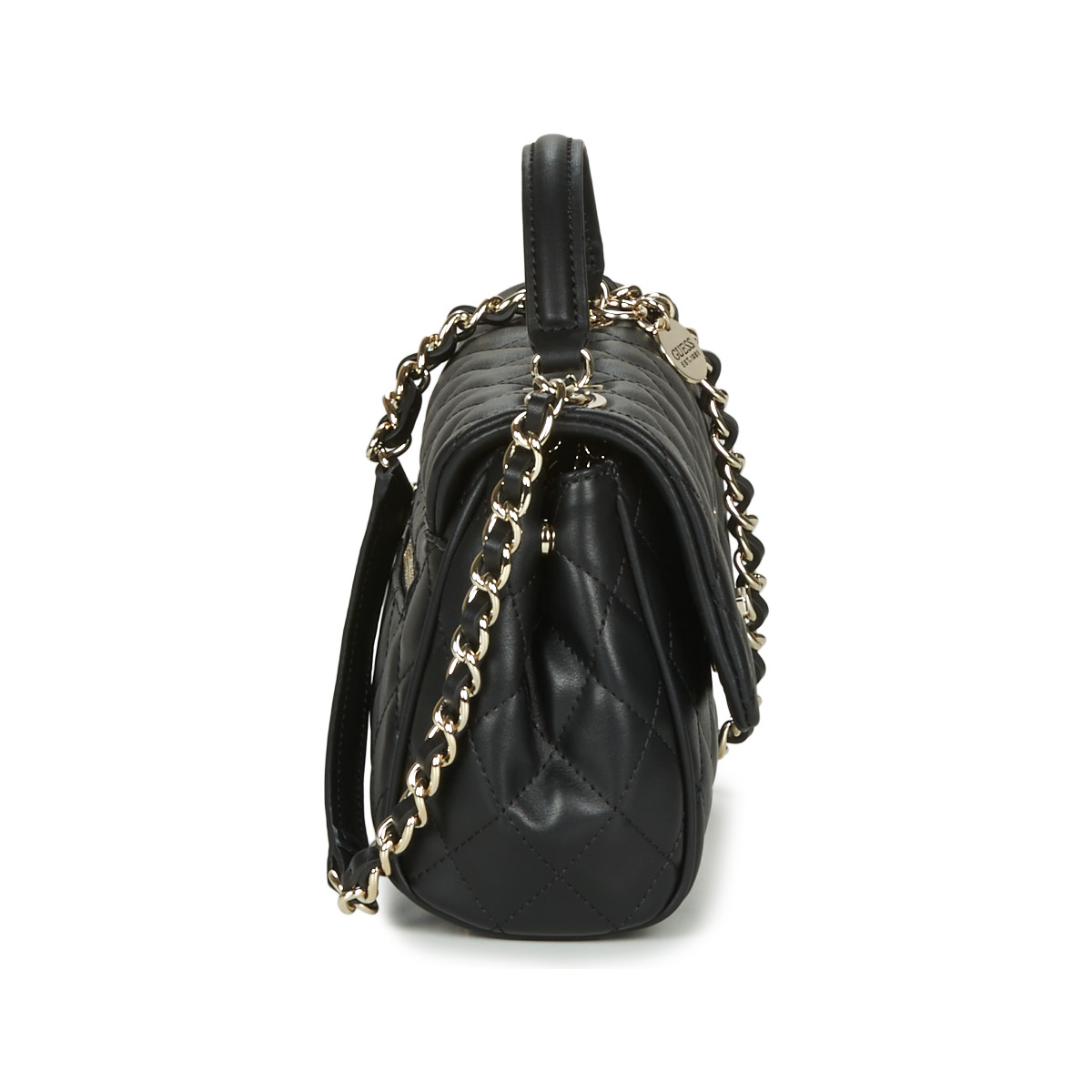Borsa a tracolla donna Guess  SWEET CANDY CONVERTIBLE CROSSBODY FLAP  Nero