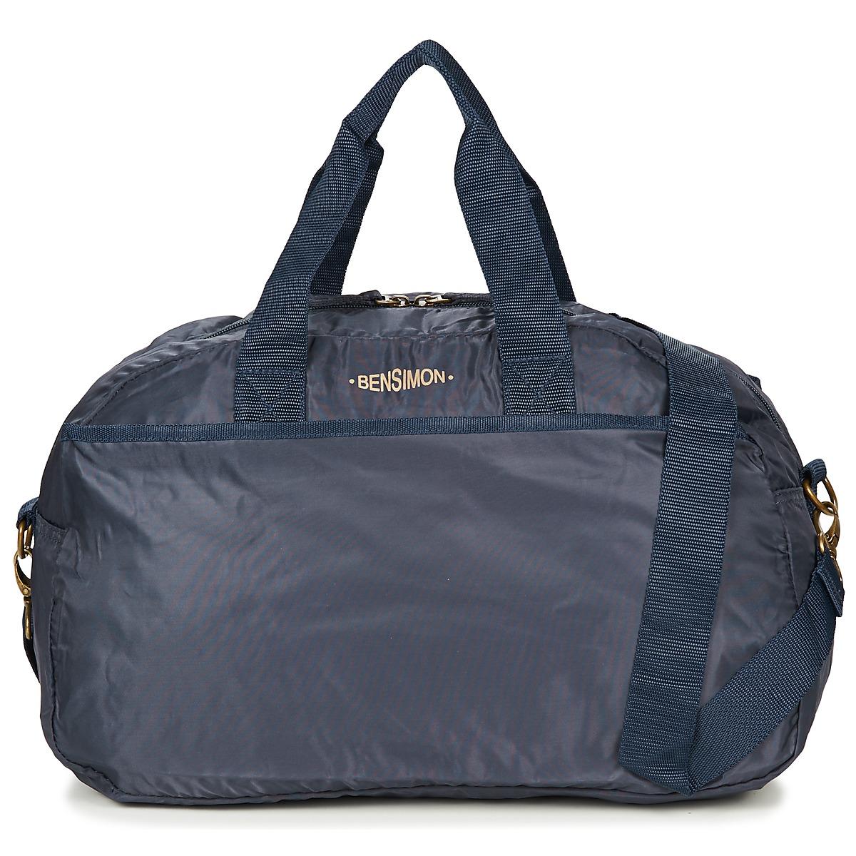 Borsa da sport donna Bensimon  SPORT BAG  Blu
