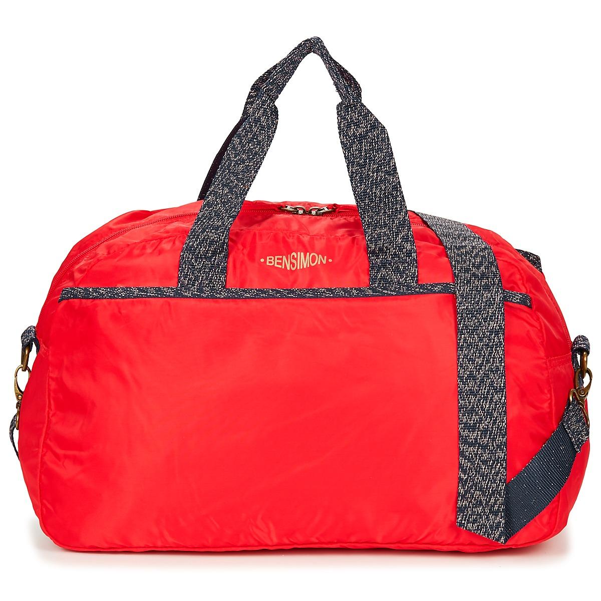 Borsa da sport donna Bensimon  SPORT BAG  Rosso