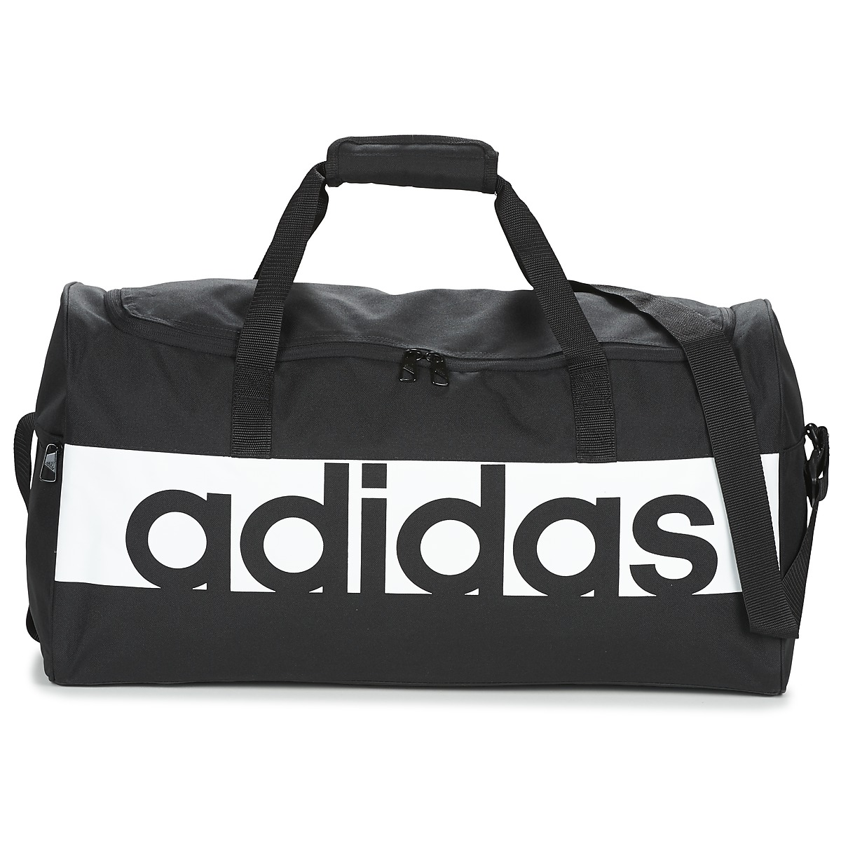 Borsa da sport donna adidas  LINEAR TEAMBAG MEDIUM  Nero