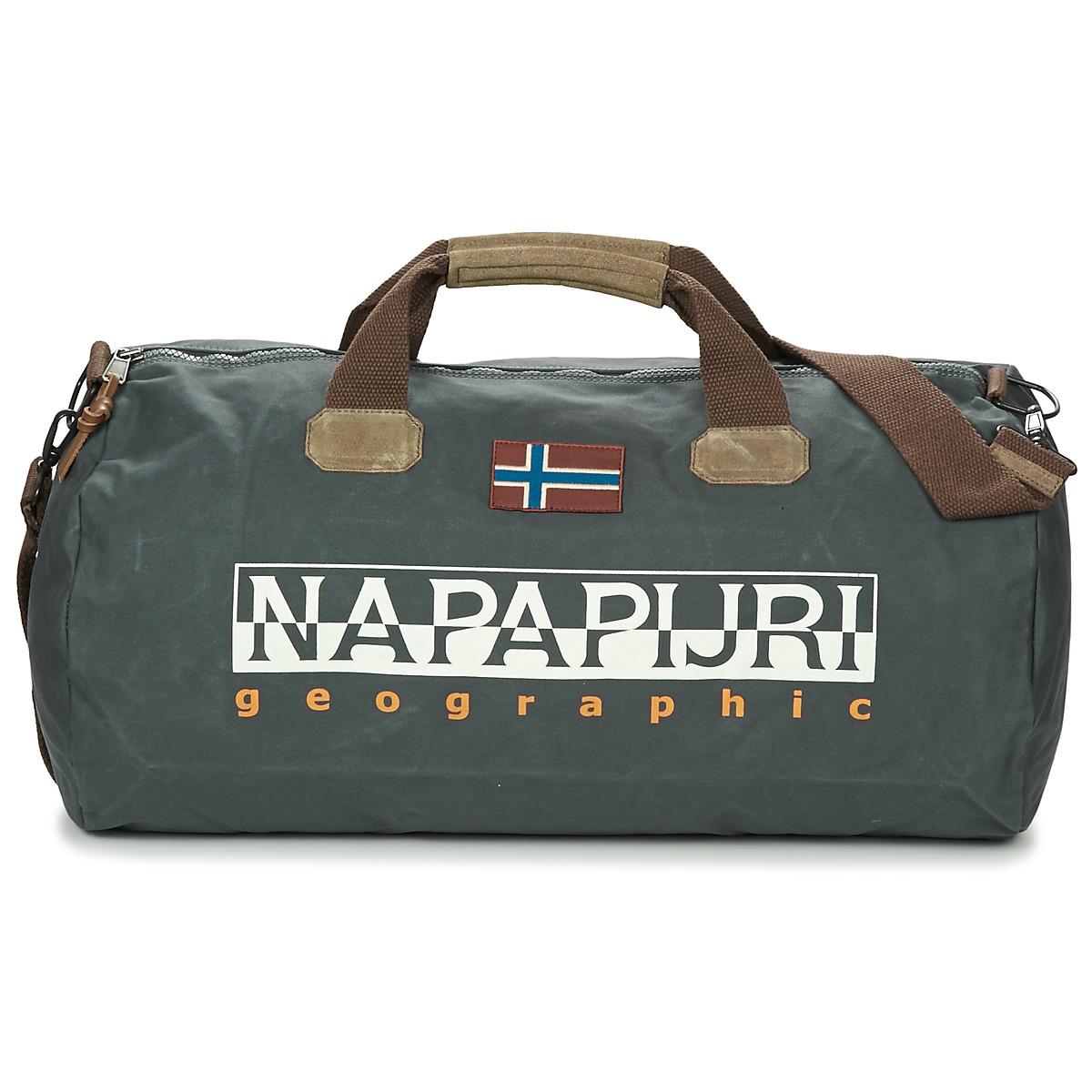 Borsa da viaggio donna Napapijri  BERING  Grigio