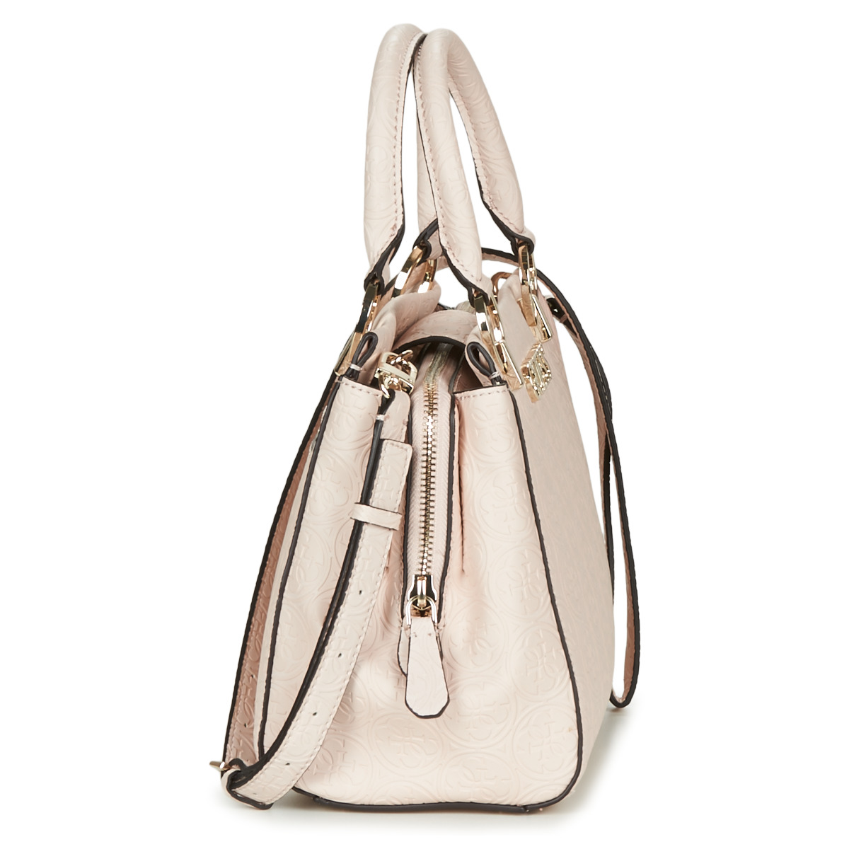 Borsette donna Guess  HERITAGE POP GIRLFRIEND SATCHEL  Beige