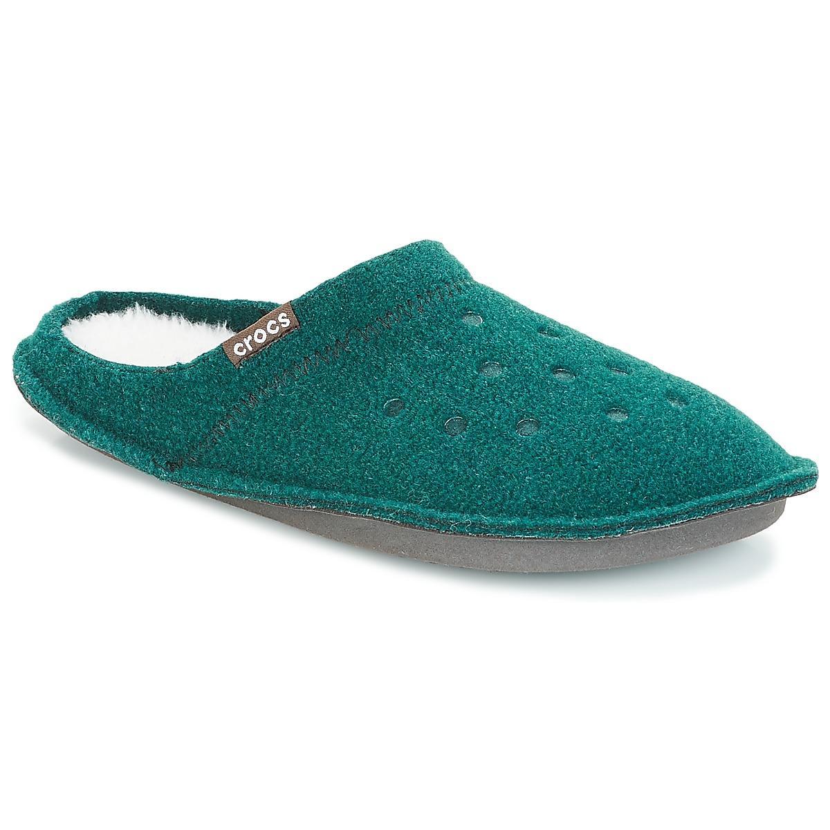 Pantofole donna Crocs  CLASSIC SLIPPER  Verde Crocs 191448196520