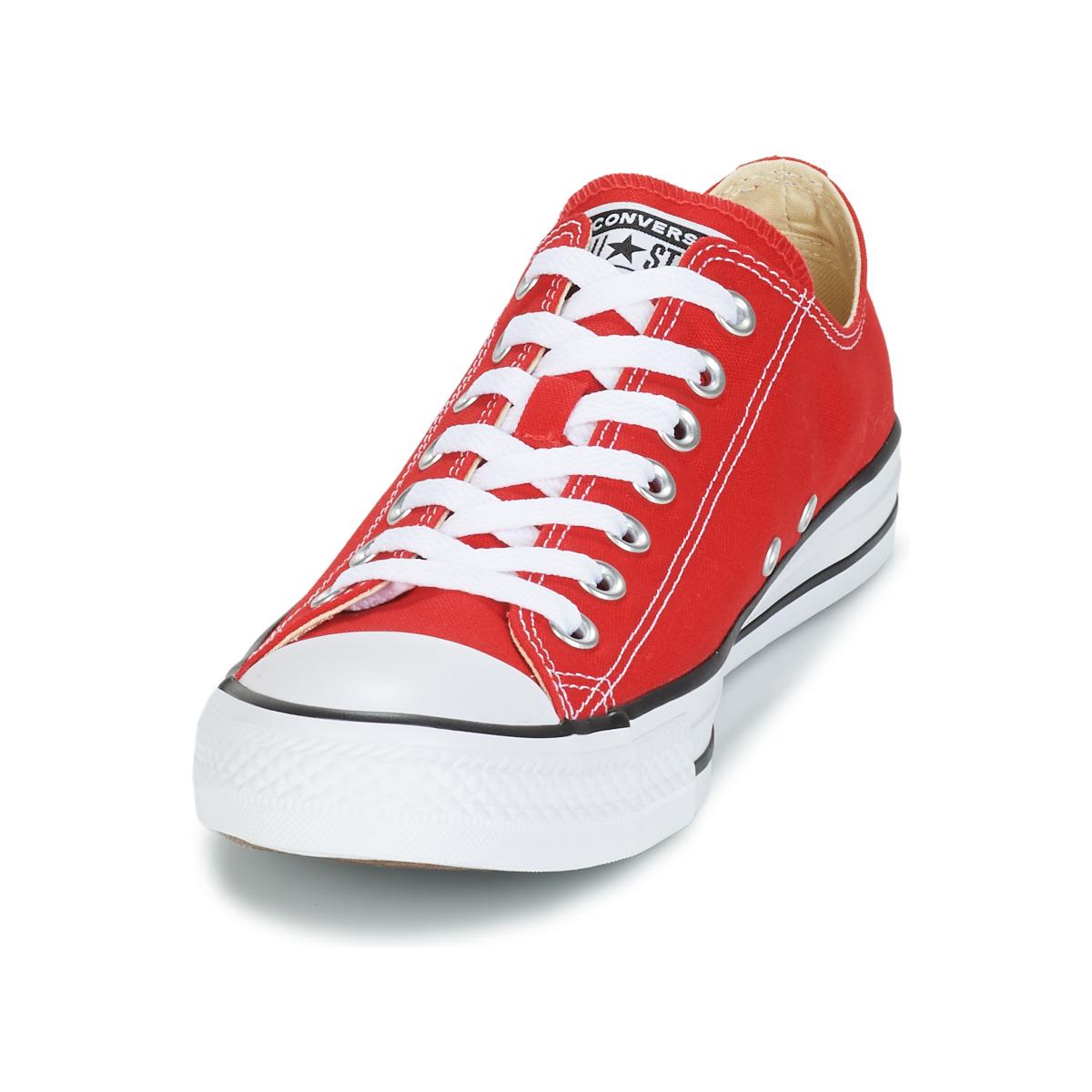 Sneakers Scarpe donna Converse  CHUCK TAYLOR ALL STAR CORE OX  Rosso