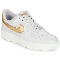 Scarpe donna Nike  AIR FORCE 1 '07 METALLIC W  Bianco Nike 191887654988