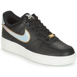 Scarpe donna Nike  AIR FORCE 1 '07 METALLIC W  Nero Nike 191887655138