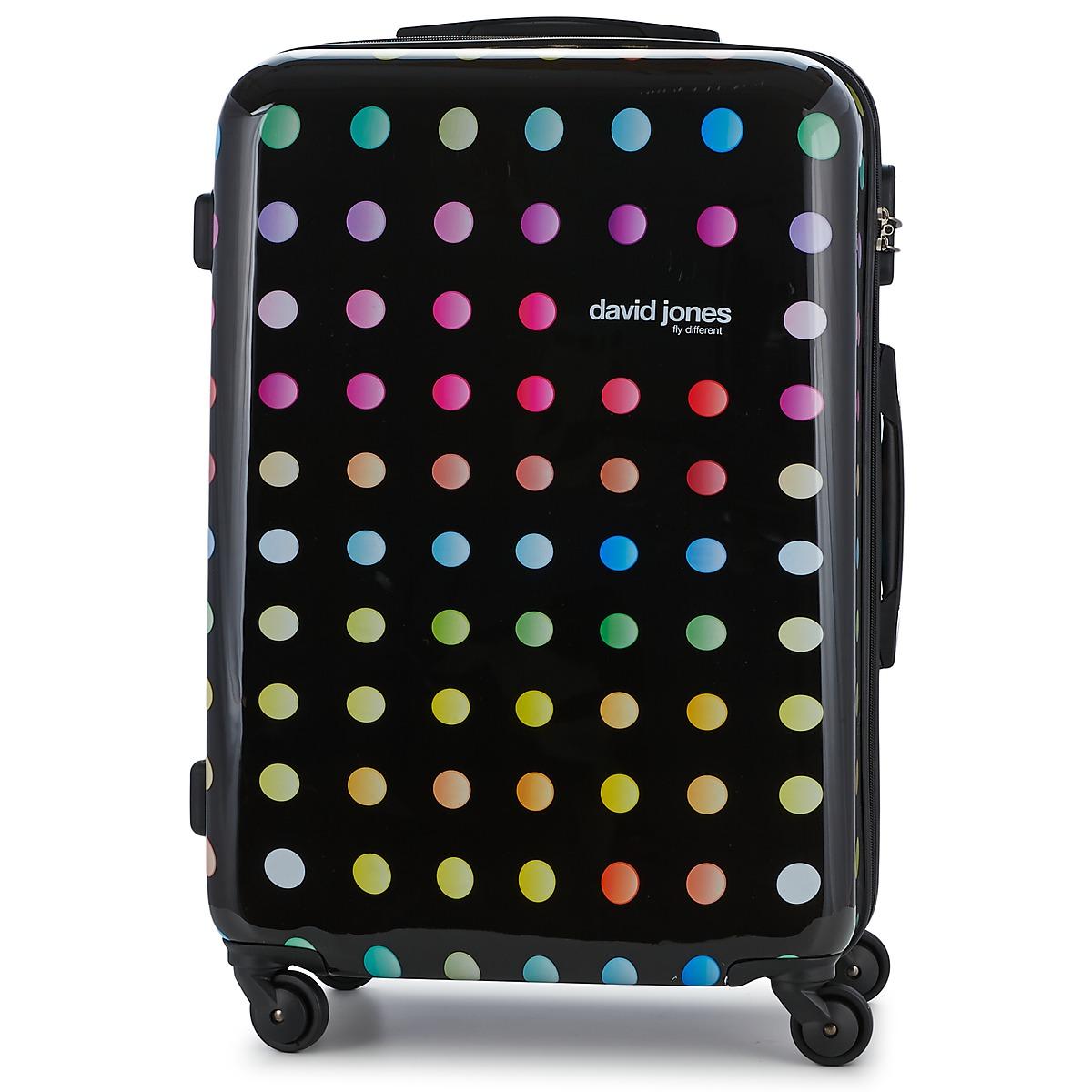 Valigia rigida donna David Jones  GLOOR 83L  Multicolore