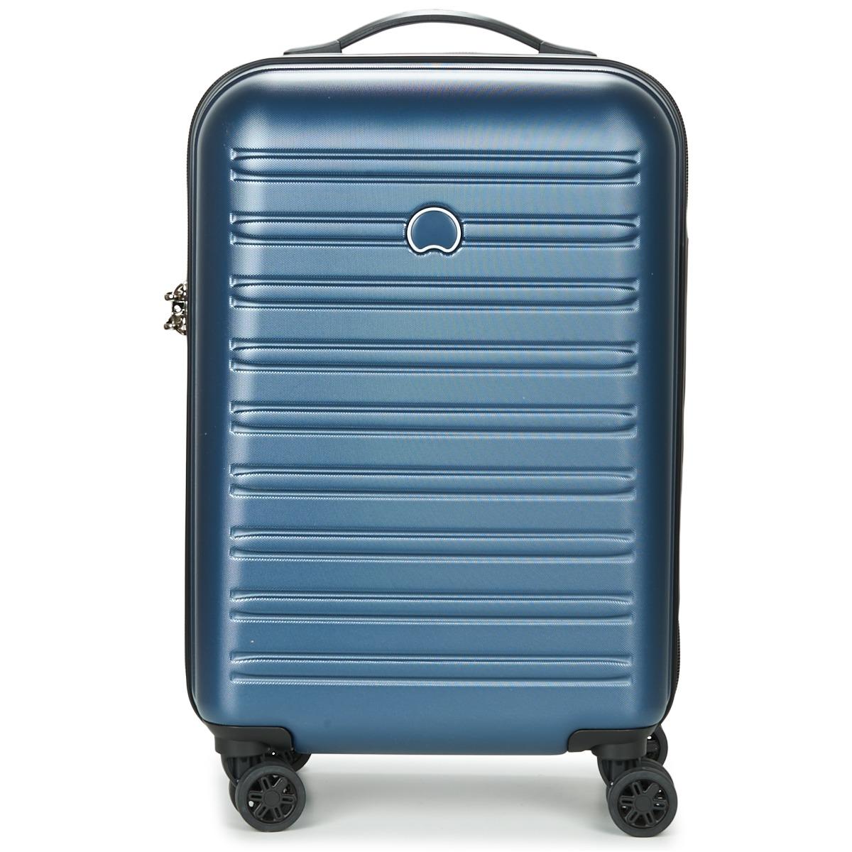 Valigia rigida donna Delsey  SEGUR CAB 4DR 55CM  Blu