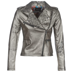 Giacca in pelle donna Desigual  JACKELINE