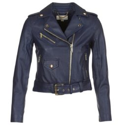 Giacca in pelle donna MICHAEL Michael Kors  CALSSIC LEATHER MOTO