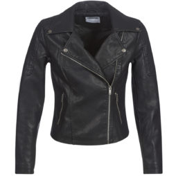 Giacca in pelle donna Noisy May  NMREBEL  Nero