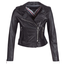 Giacca in pelle donna Oakwood  CITY  Nero