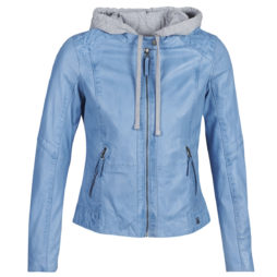Giacca in pelle donna Oakwood  MONDAY  Blu