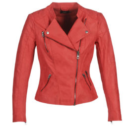 Giacca in pelle donna Only  ONLAVA