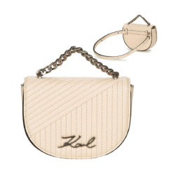 Marsupio donna Karl Lagerfeld  K/SIGNATURE QUILTED BUMBAG