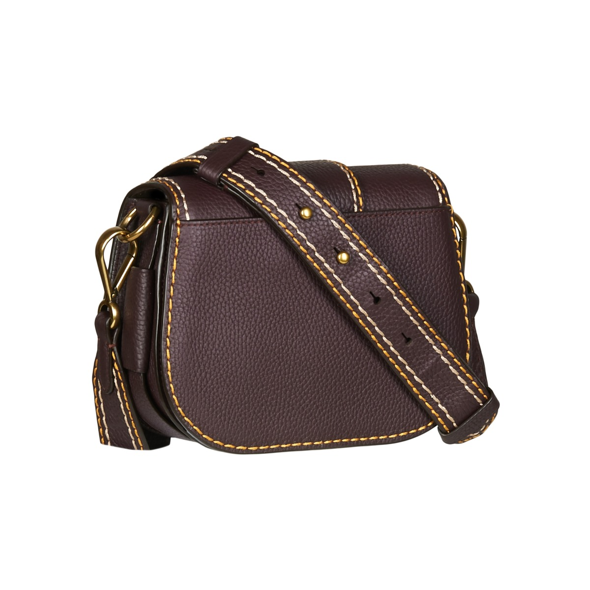 991740b6320266 ... Borsa a tracolla donna Polo Ralph Lauren BELT SADDLE-CROSSBODY ...
