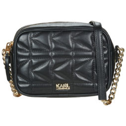 Borsa a tracolla donna Karl Lagerfeld  K/KUILTED CAMERA BAG Karl Lagerfeld 8718504690536