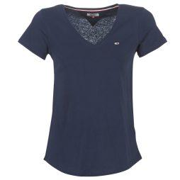 T-shirt donna Tommy Jeans  TJW SOFT JERSEY V-NECK TEE