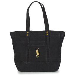 Borsa Shopping donna Polo Ralph Lauren  GOLD PP CANVAS