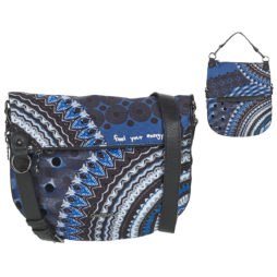 Borsa a tracolla donna Desigual  BLUE FRIEND FOLDED