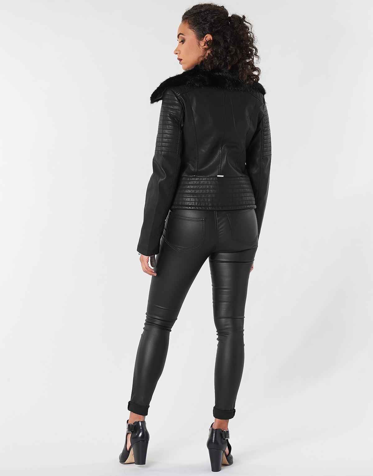 Guantity limitata bellissimo aspetto disponibile 15602214Consegna Donna Tasha In Gratuita Giacca Pelle Guess ...